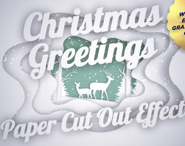 """Our """"Christmas Greetings"""" template just won a competition."""