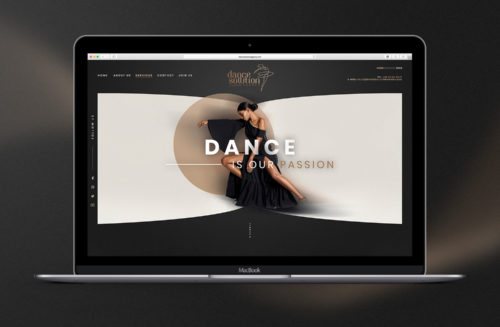 Dance Solution Agency branding