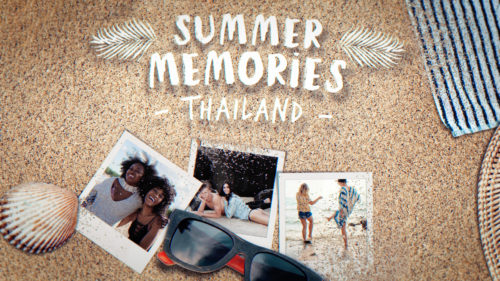 Summer Memories template
